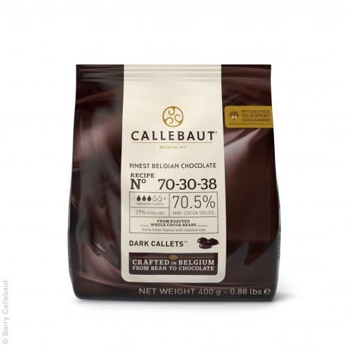 Horká čokoláda 70,4% Callebaut 400g