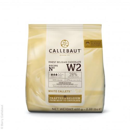 Biela čokoláda 28% Callebaut 400g