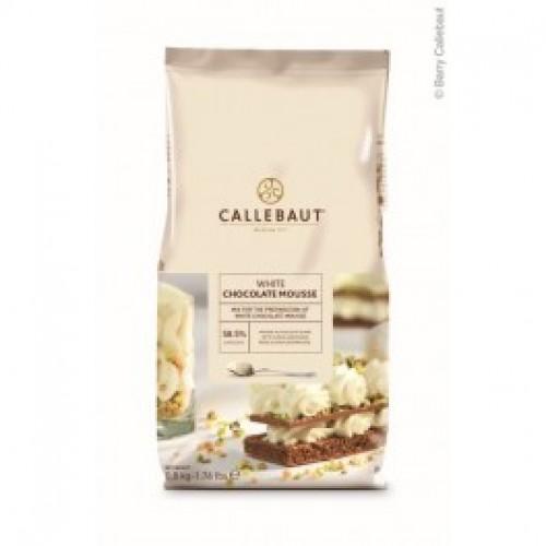 Mousse Callebaut biela čokoláda