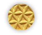 Metalická zlatá farba v spreji